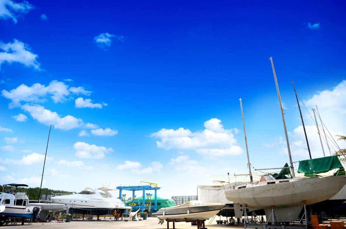 hardstand at royal phuket marina