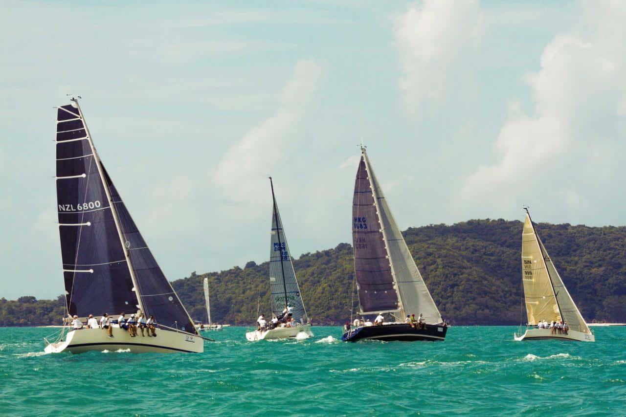 Sailing in Phuket