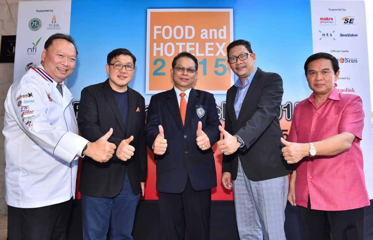FOOD and HOTELEX at Royal Phuket Marina