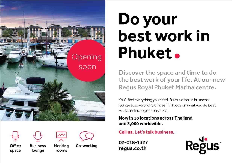 Office space at Royal Phuket marina