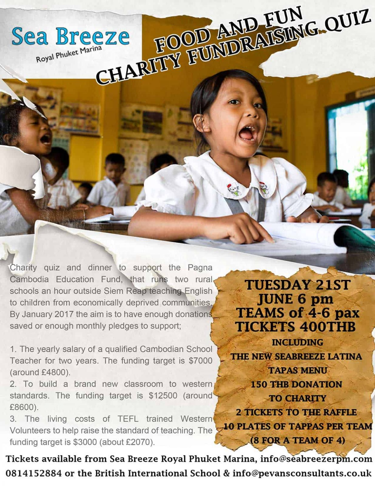 Charity night at Royal Phuket Marina